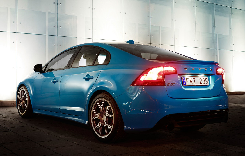 Фото обои Concept, Volvo, Машина, Концепт, Машины, Голубой, Вольво, Car, Автомобиль, Cars, Blue, Автомобили, S60, Polestar Performance