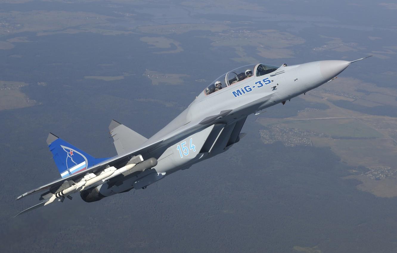 Обои Mig-35, истребитель, многоцелевой. Авиация foto 14