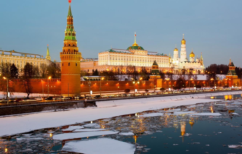 Обои kremlin, moscow, russia, россия, кремль. Города foto 15
