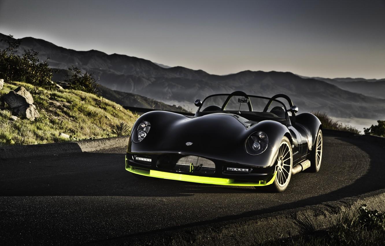 Фото обои car, машина, авто, горы, чёрный, cars, lucra, lc 470 r