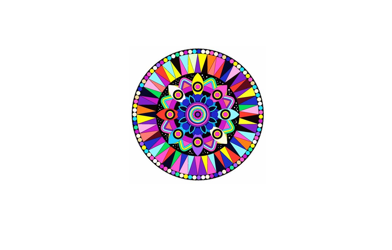 Фото обои цвета, узоры, круг, минимализм