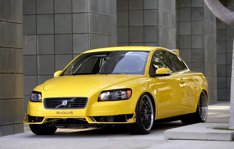 Фото обои Volvo, evolve, C30