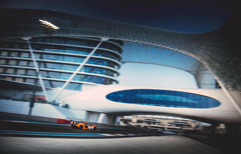Фото обои Abu Dhabi, 2014, Yas Marina, McLaren 650S GT3