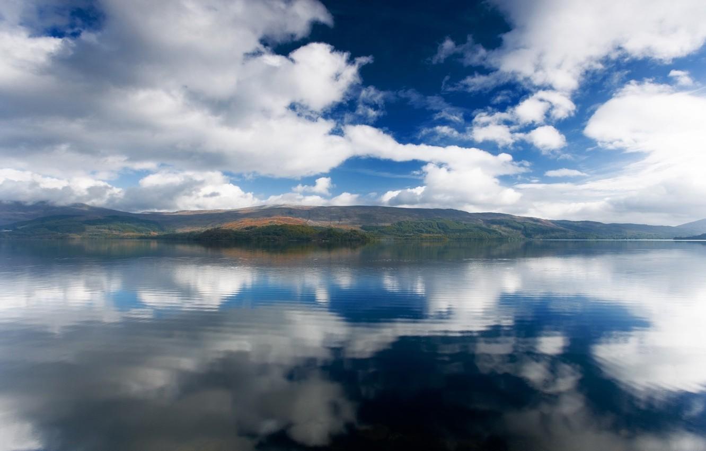 Фото обои небо, вода, пейзаж, горы, природа, озеро, река, океан, вид, красота, аляска