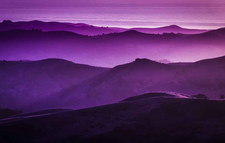 Картинка рабочего стола фиолетовые тона