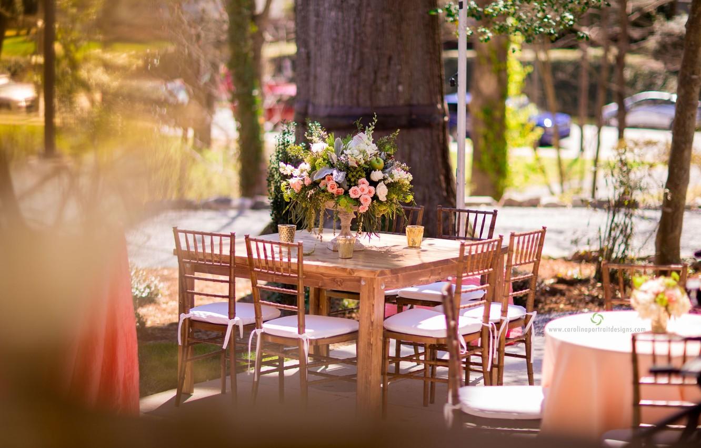 картинка утро стол на улице умеет подчеркнуть достоинства
