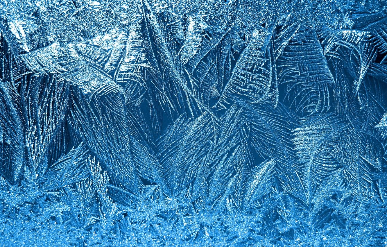Фото обои зима, снежинки, узор, мороз
