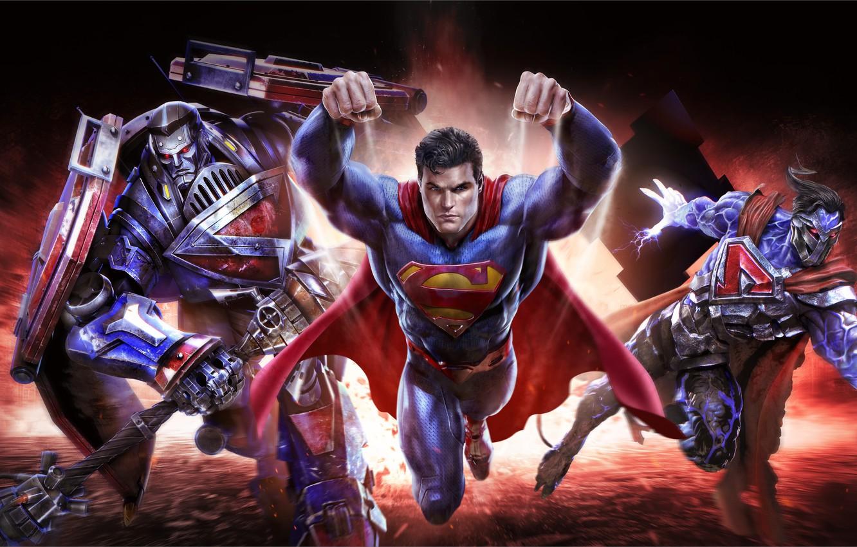 Обои clark kent, superman, kal-el, dc comics, infinite crisis, Warner Games. Игры foto 12