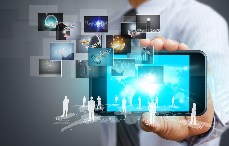 Обои смартфон, Интернет, социальные сети. HI-Tech foto 6