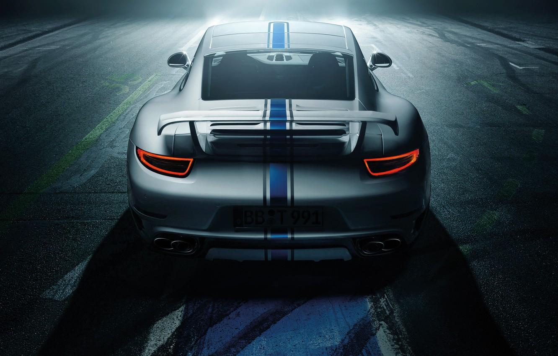 Фото обои Porsche 911, 2014, TechArt