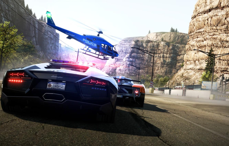Обои hp, hot pursuit, Need for speed hot pursuit. Игры foto 15