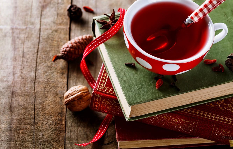 Обои book, cup, книга, tea, чай. Разное foto 6