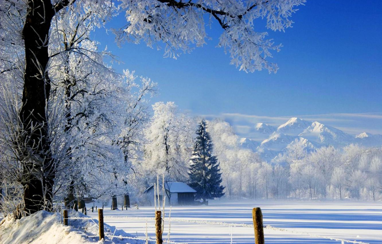 Обои и картинки на рабочий стол зима природа