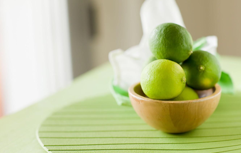 Обои плоды, лайм, фрукт. Еда foto 13