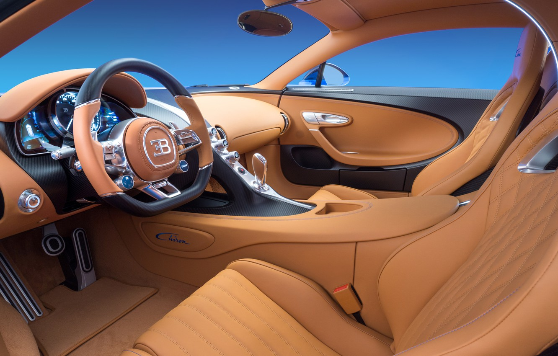 Фото обои Bugatti, avto, 2016, chiron