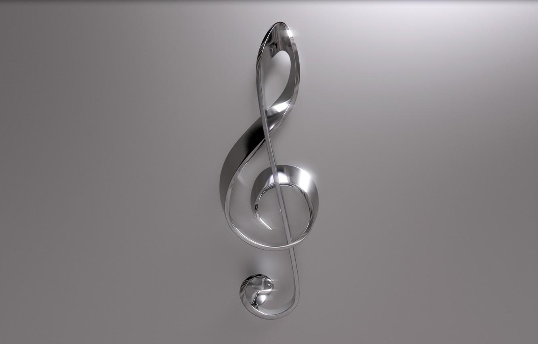 Фото обои ноты, скрипичный ключ, скрипичный
