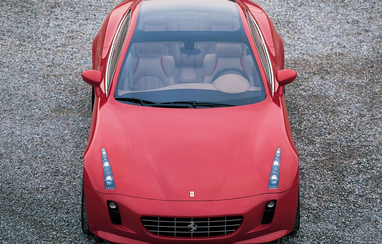 Фото обои ferrari, 2005, by Giorgetto Giugiaro, Красивое красное, Tokyo Motor Show, Ferrari GG50, concepts