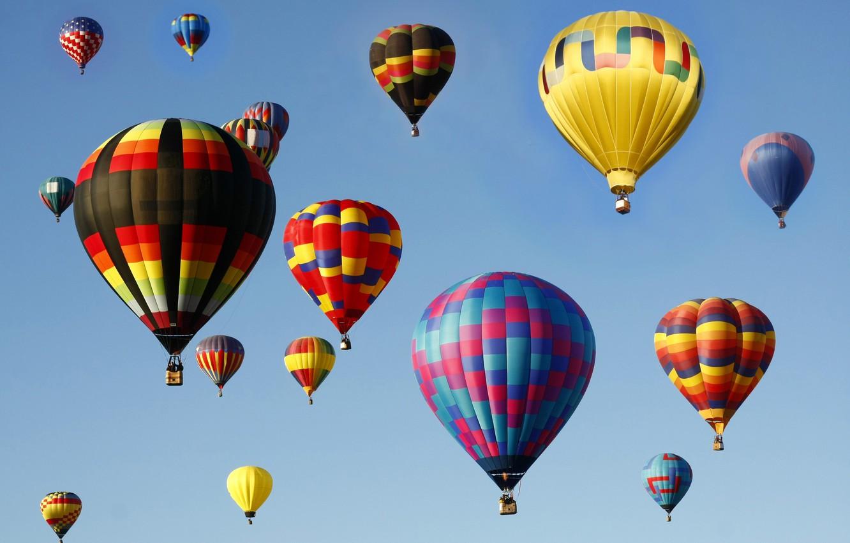 Обои воздушный шар, корзина. Авиация foto 11