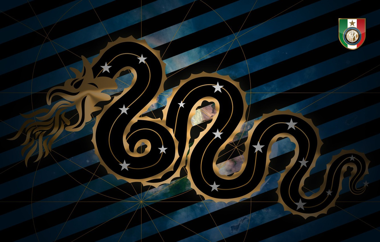 Фото обои футбол, змея, Италия, эмблема, Милан, Italy, футбольный клуб, Нерадзурри, FC Internazionale, Nerazzurri, Milano, ФК Интер