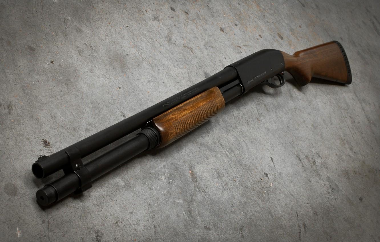 Фото обои фон, ствол, ружьё, помповое, Remington 870