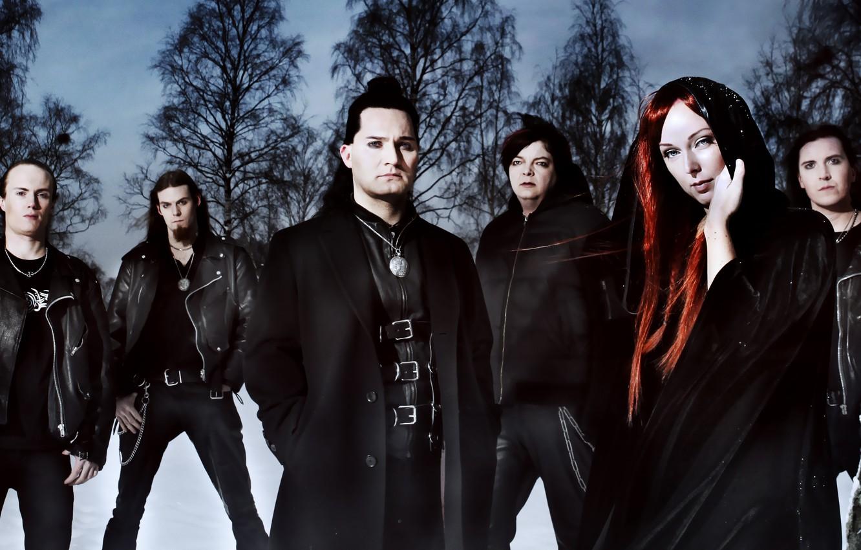 Фото обои музыка, фон, обои, Симфо-метал, Amberian dawn, Хейди Парвиайнен, пауэр-метал