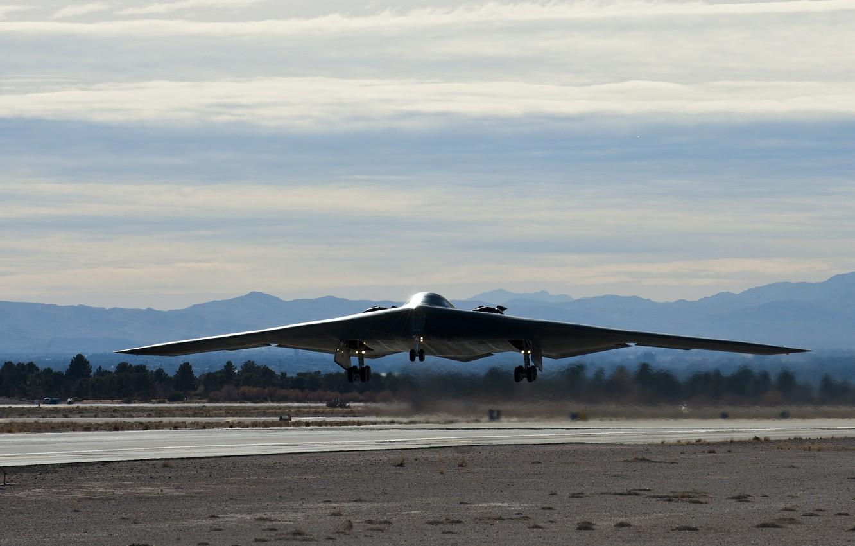 Обои стратегический, b-2 spirit, бомбардировщик, Northrop. Авиация foto 14
