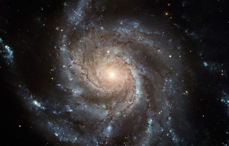 Фото обои Галактика, Звезды, Планеты, Stars, Galaxy
