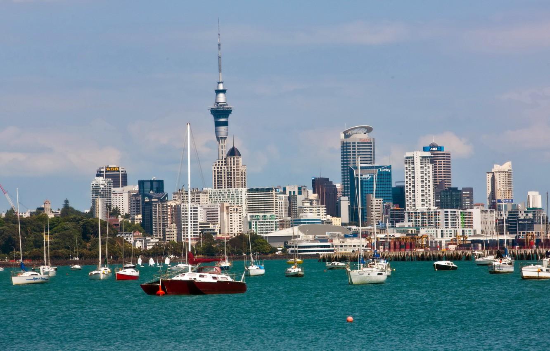 Обои сверху, новая зеландия, auckland. Города foto 9