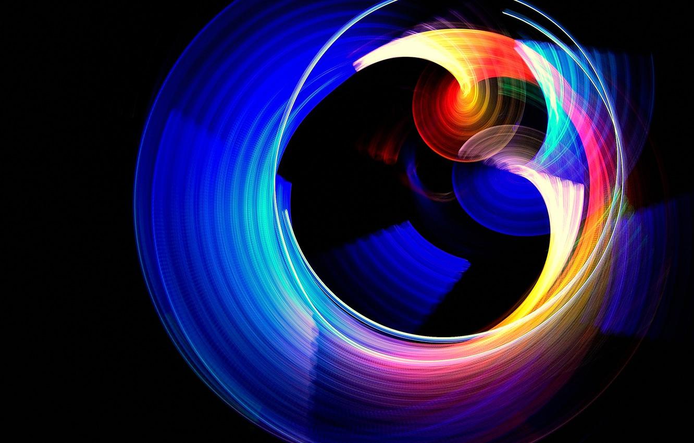 Обои краски, узор, Кольцо, Цвет. Абстракции foto 19