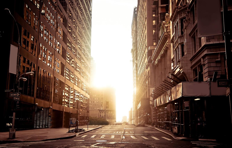 Обои Город, улица, Нью Йорк. Города foto 10