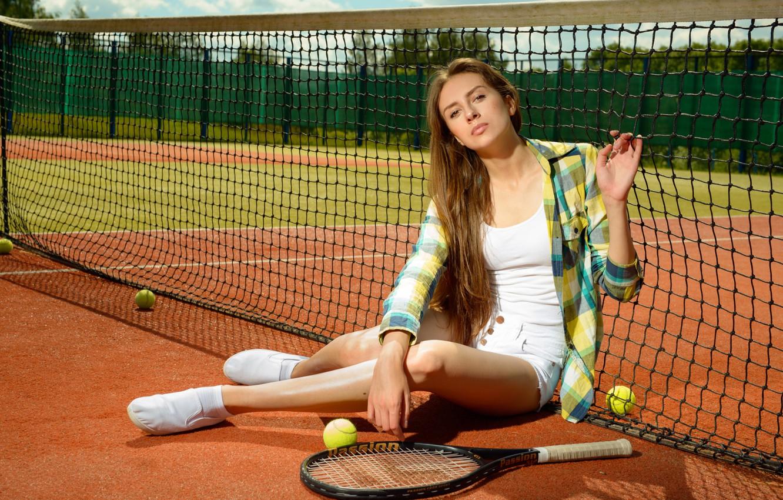фото с теннисной ракеткой фотокамеры