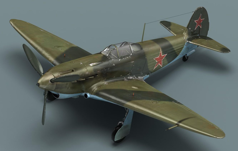 Фото обои кабина, самолёт, Советский истребитель, як-3