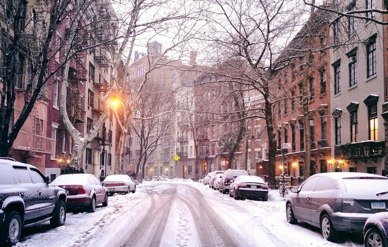 Обои new york city, машины, америка, улица, сша. Города foto 18