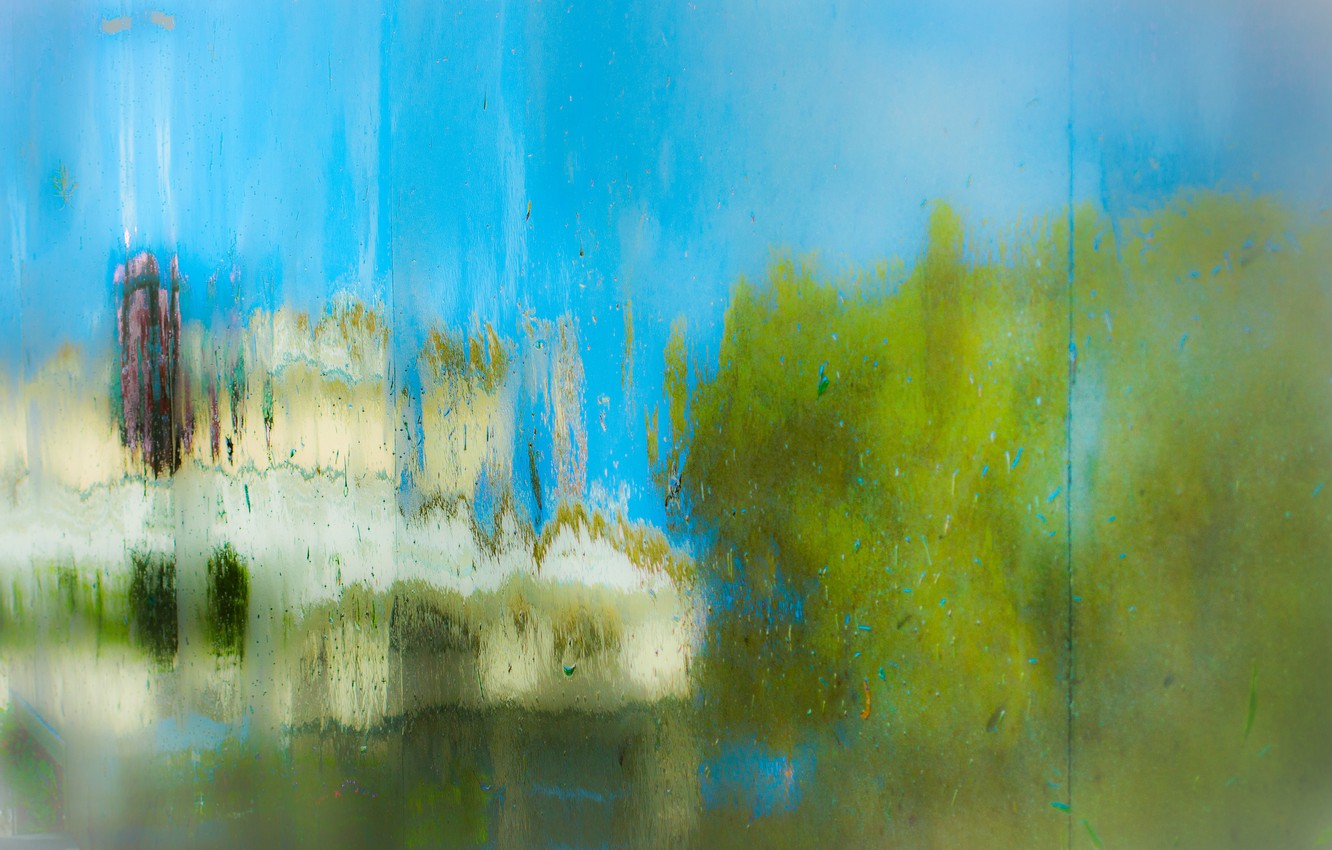 Обои Пейзаж, окно, стекло. Абстракции foto 6