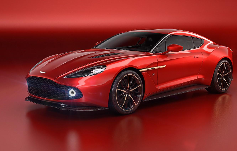 Фото обои Concept, фон, Aston Martin, астон мартин, Zagato, Vanquish, ванквиш