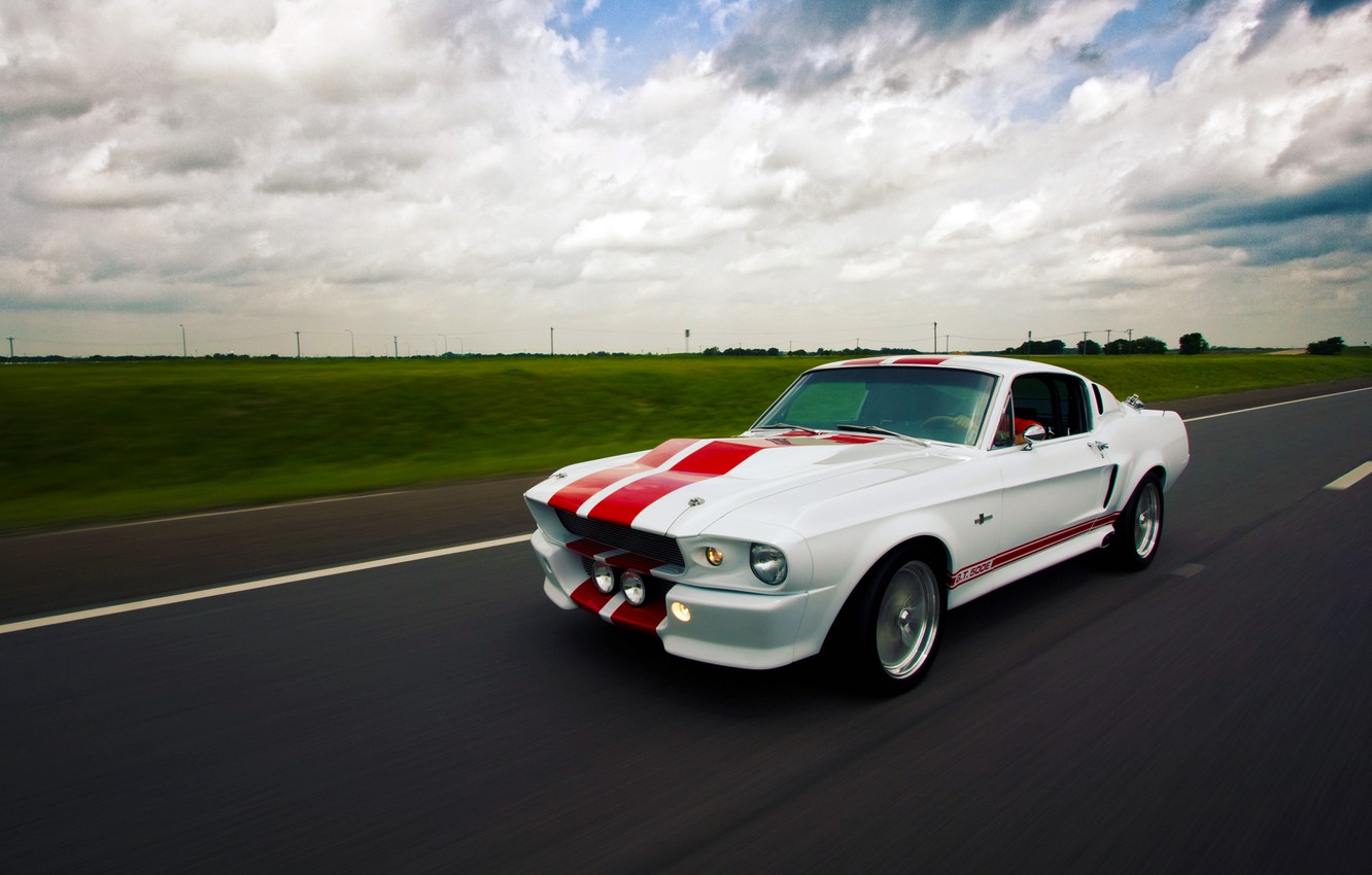Фото обои Mustang, Ford, Shelby, GT500E