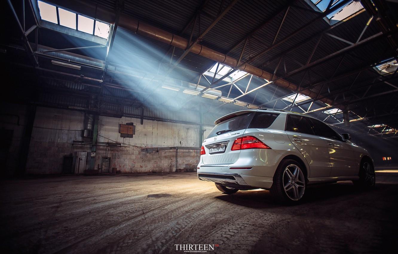 Фото обои машина, авто, Mercedes-Benz, фотограф, auto, photography, AMG, photographer, ML350, корма, Thirteen