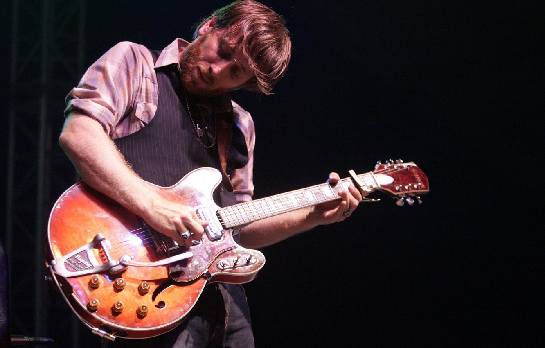 Фото обои музыка, гитара, Dan Auerbach, Дэн Ауэрбах, The Black Keys, Black Keys