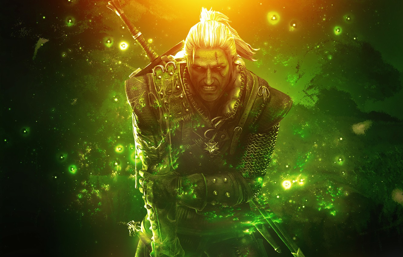 Фото обои ведьмак, The Witcher 2, Геральт, Assassins of Kings, RPG, CD Projekt RED