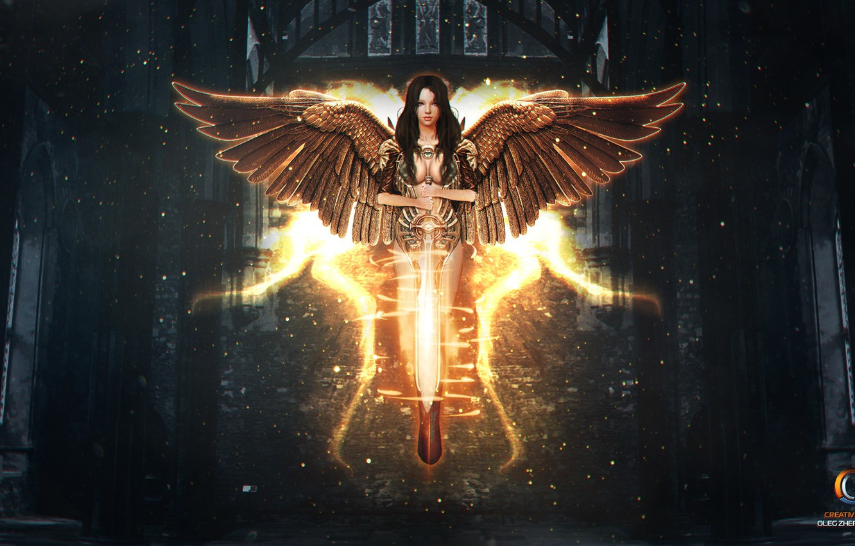 Фото ангелы и воины света