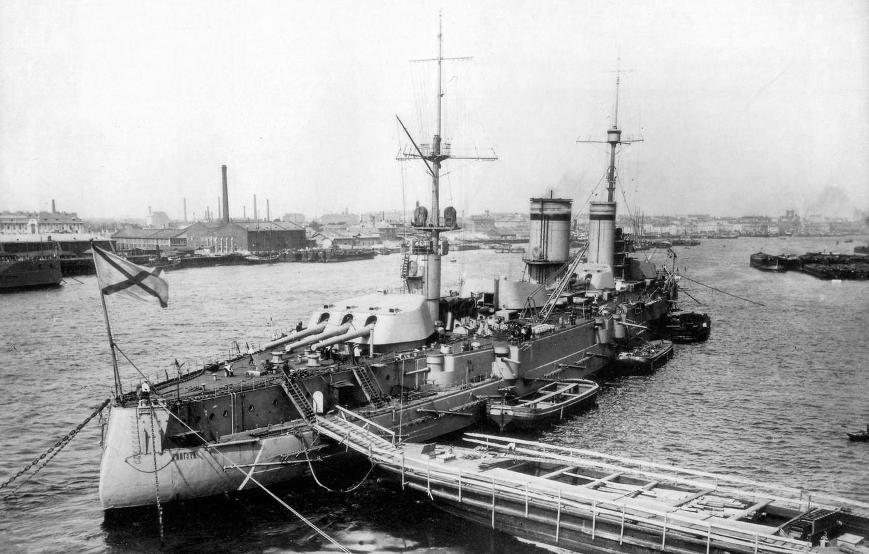 Фото обои фотография, корабль, пристань, порт, постройки, последний, трап, линейный, флота, типа, серии, советского, спуска, закладки, дате, …