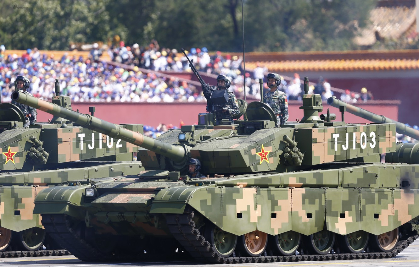 Фото обои soldiers, military, tanks, Chinese, type99a