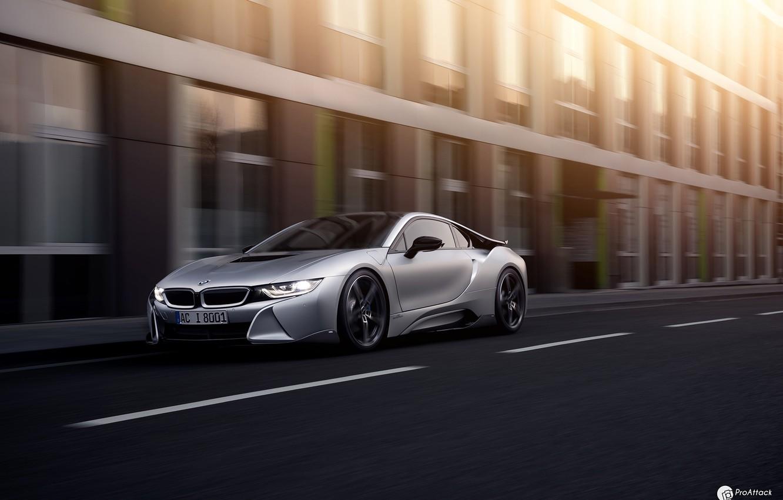 Фото обои дорога, город, BMW