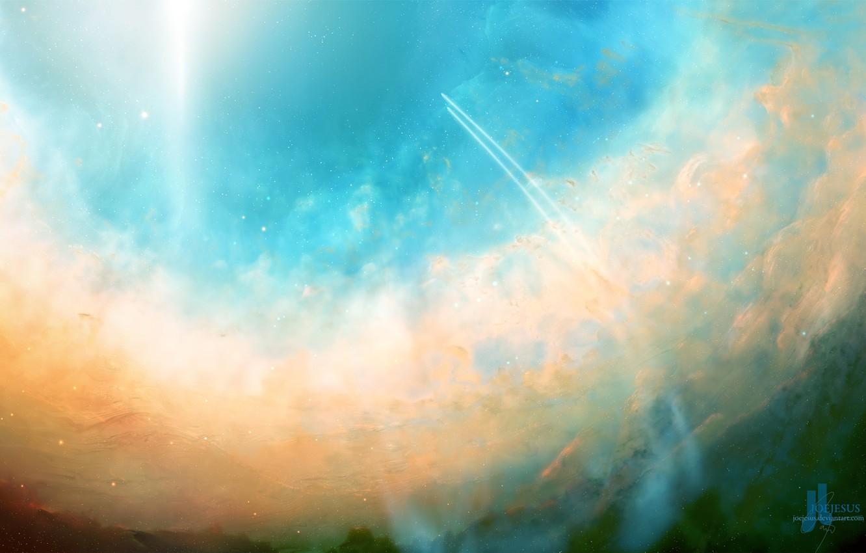 Обои свет, Облака. Разное foto 8