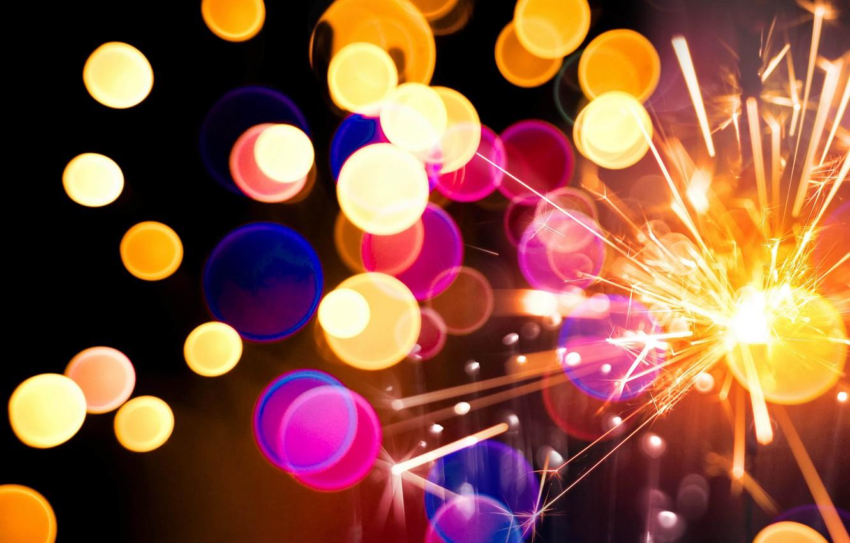 Обои искры, бенгальский огонь, sparkler. Разное foto 17
