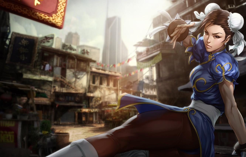 Фото обои girl, game, fight, Street Fighter, Chun Li