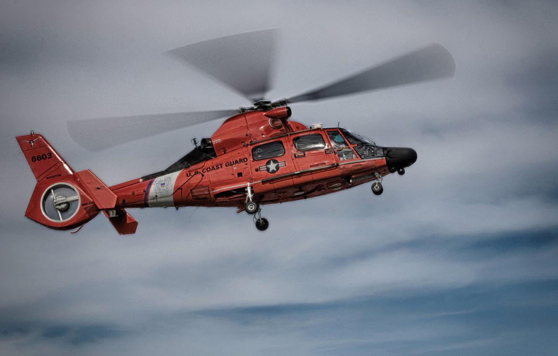 Обои sa-365n1, многоцелевой, Eurocopter. Авиация foto 10