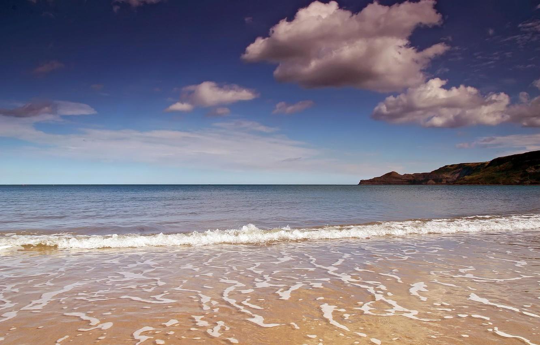 Фото обои море, пляж, пейзаж, берег