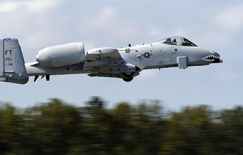 Обои republic, американский, A-10, бронированный, Fairchild, thunderbolt ii. Авиация foto 6