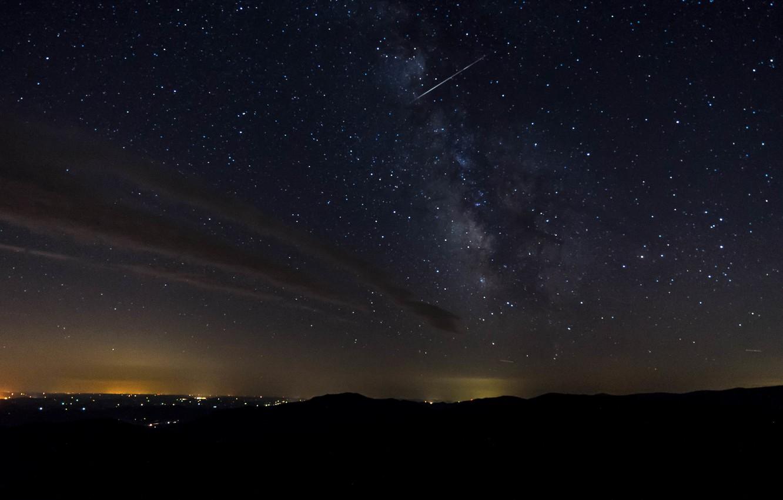 Фото звездного неба из космоса